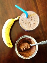 Rich Chocolate Banana Protein Shake