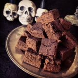 Chocolate Black Bean Protein Brownies
