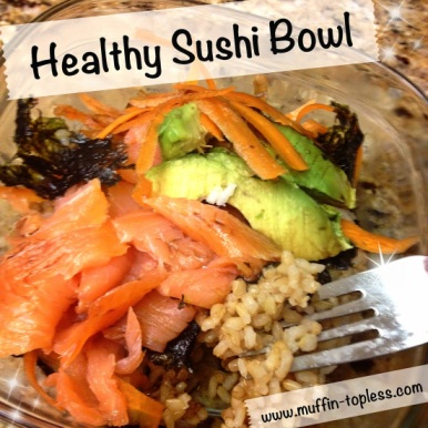 Easy & Healthy Sushi Bowl Recipe