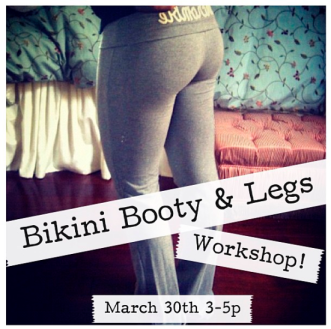 Bikini Booty & Legs Workshop with Muffin Topless
