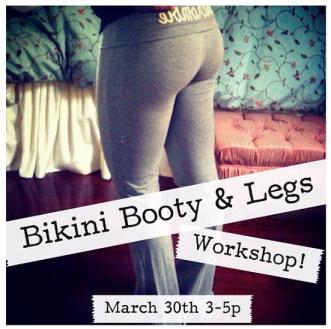 Bikini Booty & Legs Workshop with Muffin Topless