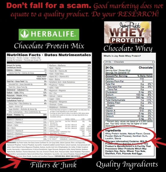 Herbalife vs Jay Robb - How to Find the Best Protein Powder