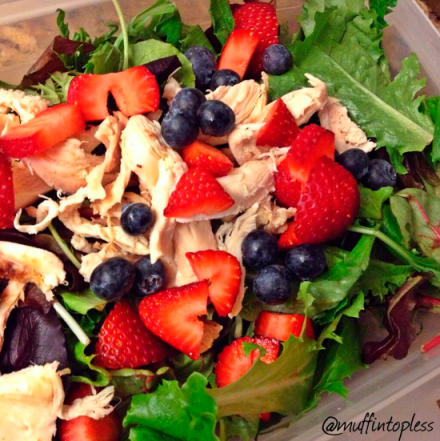 Healthy Summer Berry Salad