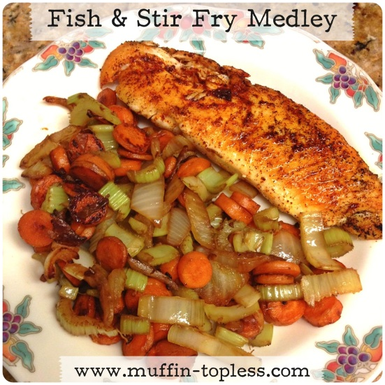 Healthy and Delicious Fish & Stir Fry Medley