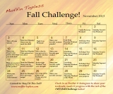 November Fall Challenge Workouts & Calendar!